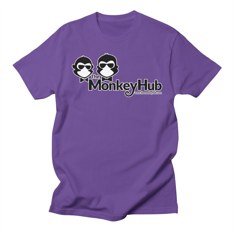 The MonkeyHub Women's Regular Unisex T-Shirt by The m0nk3y Merchandise Store