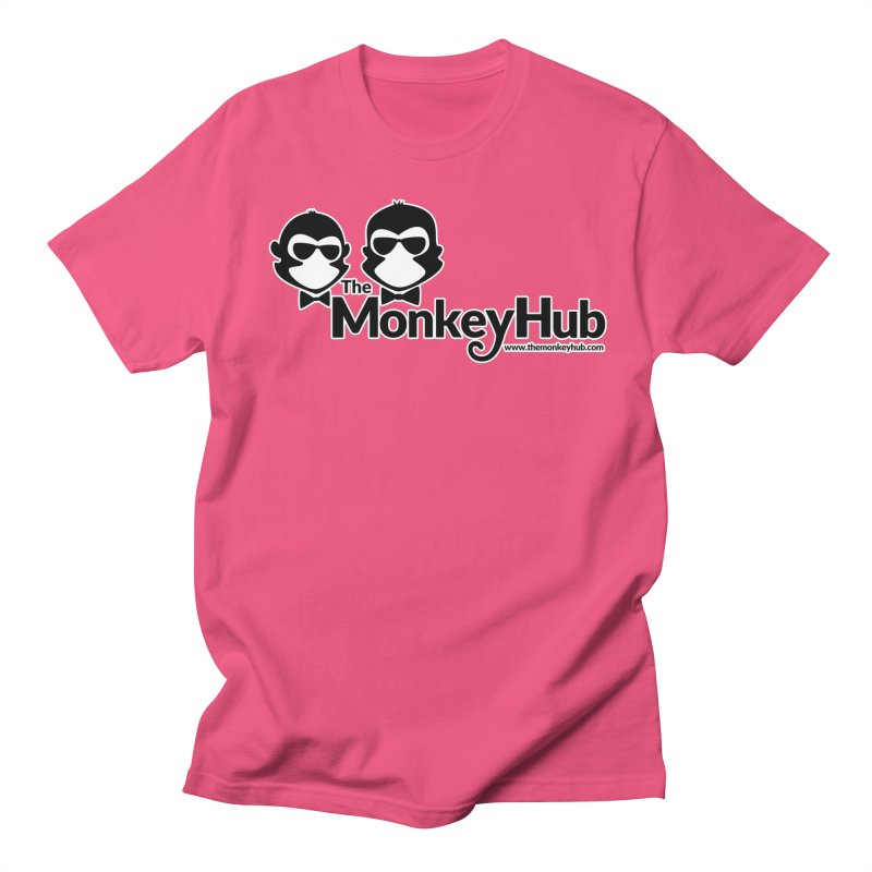 The MonkeyHub Men's T-Shirt by The m0nk3y Merchandise Store