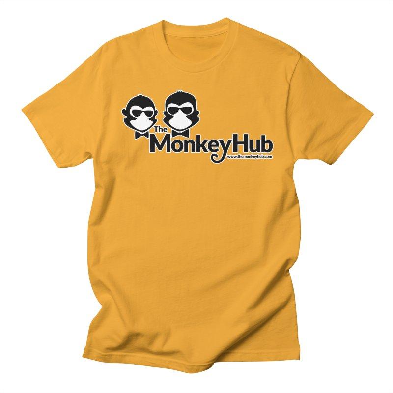 The MonkeyHub Women's Regular Unisex T-Shirt by The m0nk3y Merchandise Store