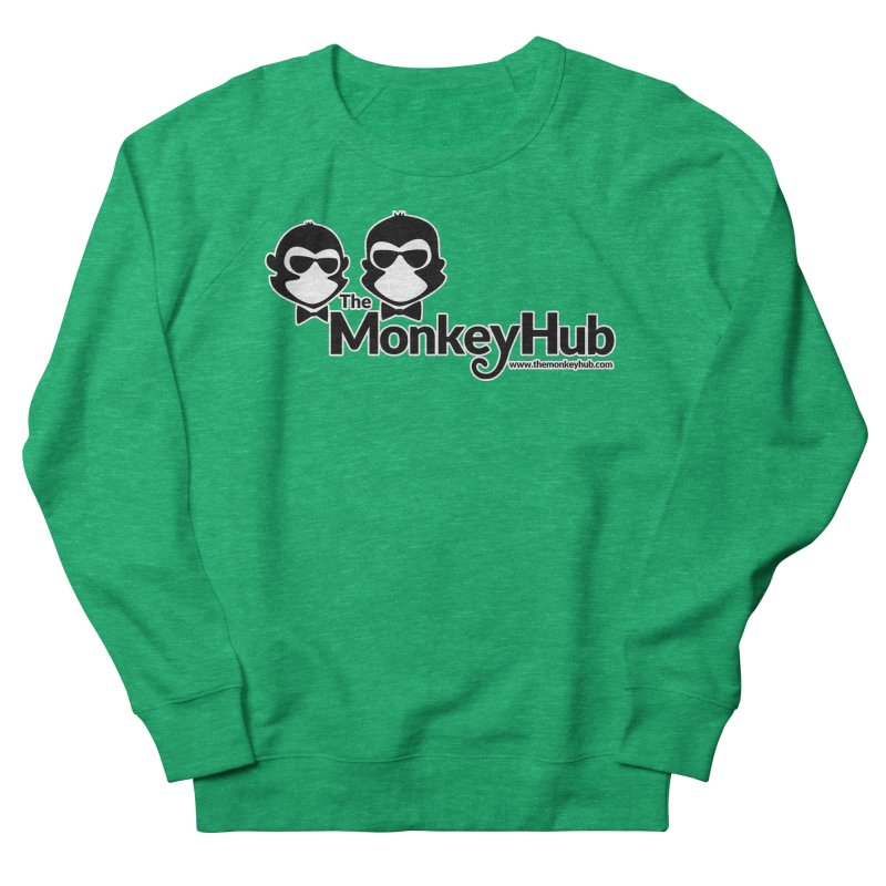 The MonkeyHub Women's Sweatshirt by The m0nk3y Merchandise Store