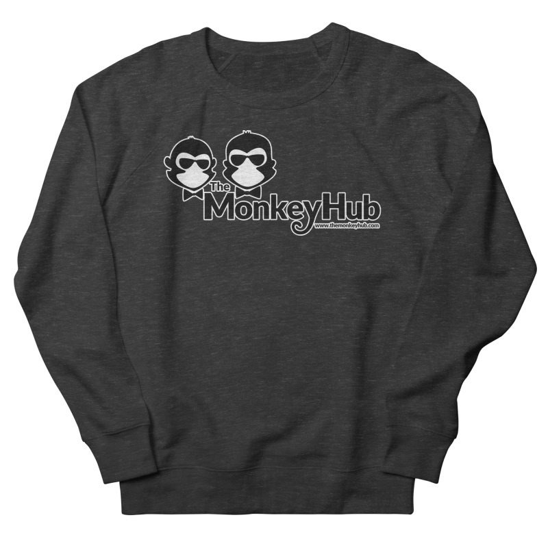 The MonkeyHub Women's French Terry Sweatshirt by The m0nk3y Merchandise Store