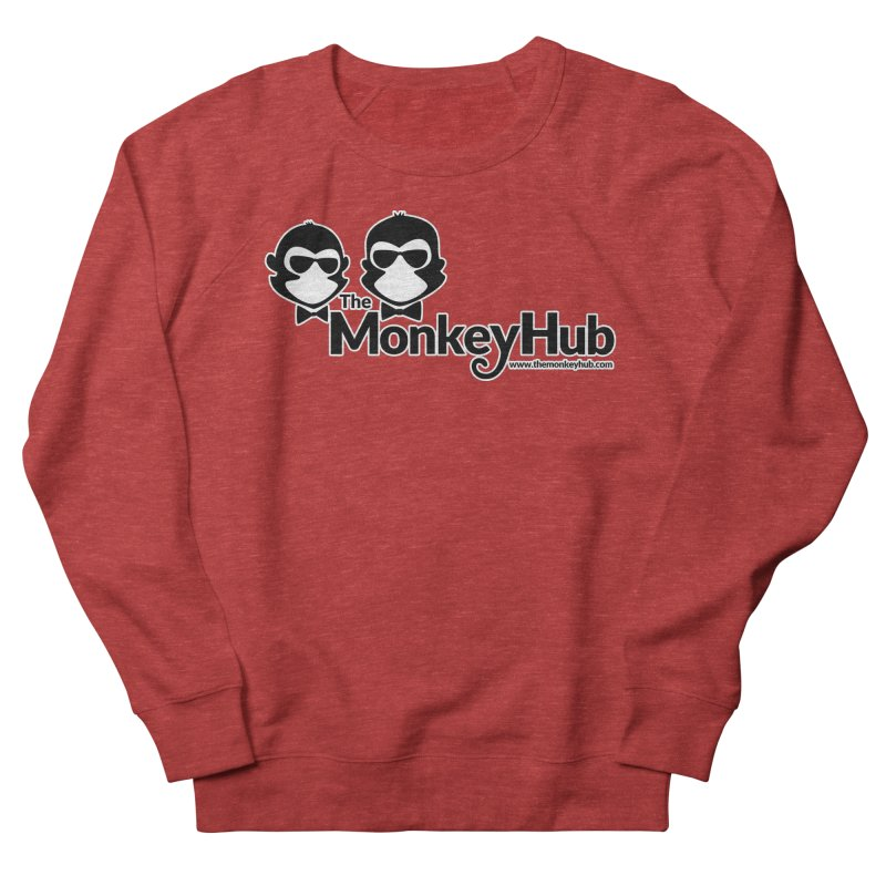 The MonkeyHub Men's French Terry Sweatshirt by The m0nk3y Merchandise Store