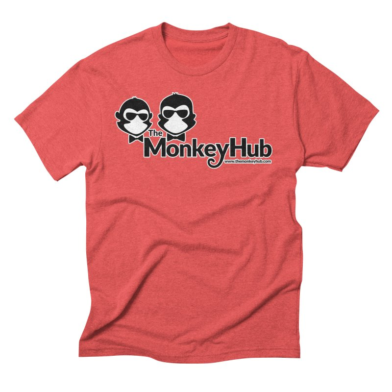 The MonkeyHub Men's Triblend T-Shirt by The m0nk3y Merchandise Store