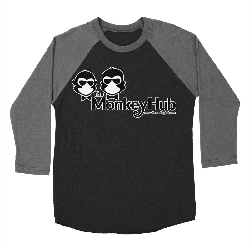 The MonkeyHub Women's Baseball Triblend Longsleeve T-Shirt by The m0nk3y Merchandise Store