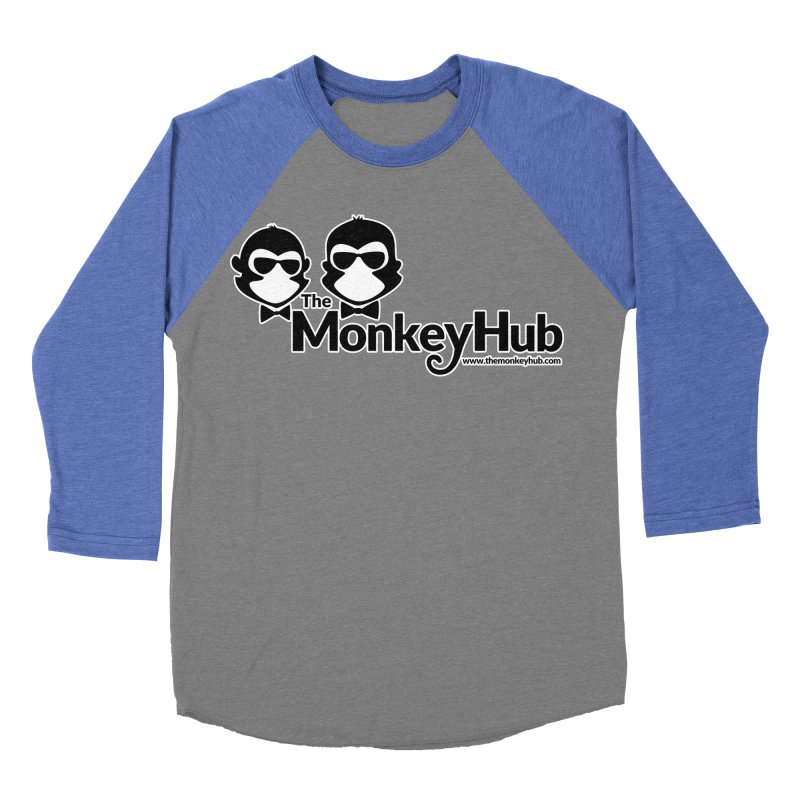 The MonkeyHub Men's Baseball Triblend Longsleeve T-Shirt by The m0nk3y Merchandise Store