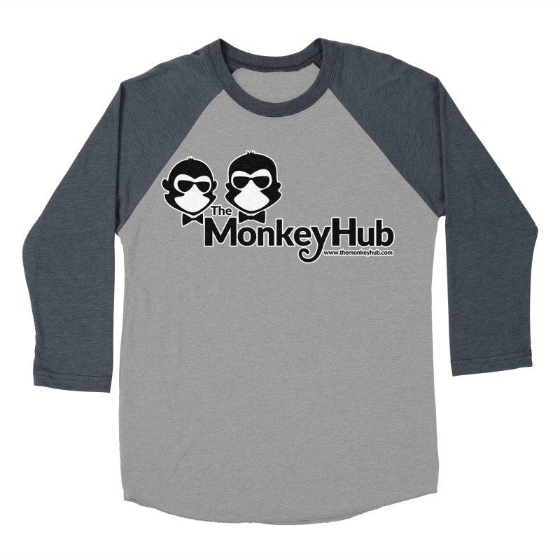 The MonkeyHub Men's Baseball Triblend Longsleeve T-Shirt by The m0nk3y Merchandise Store