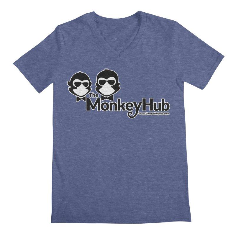 The MonkeyHub Men's Regular V-Neck by The m0nk3y Merchandise Store