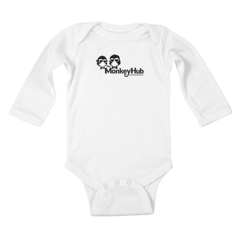 The MonkeyHub Kids Baby Longsleeve Bodysuit by The m0nk3y Merchandise Store
