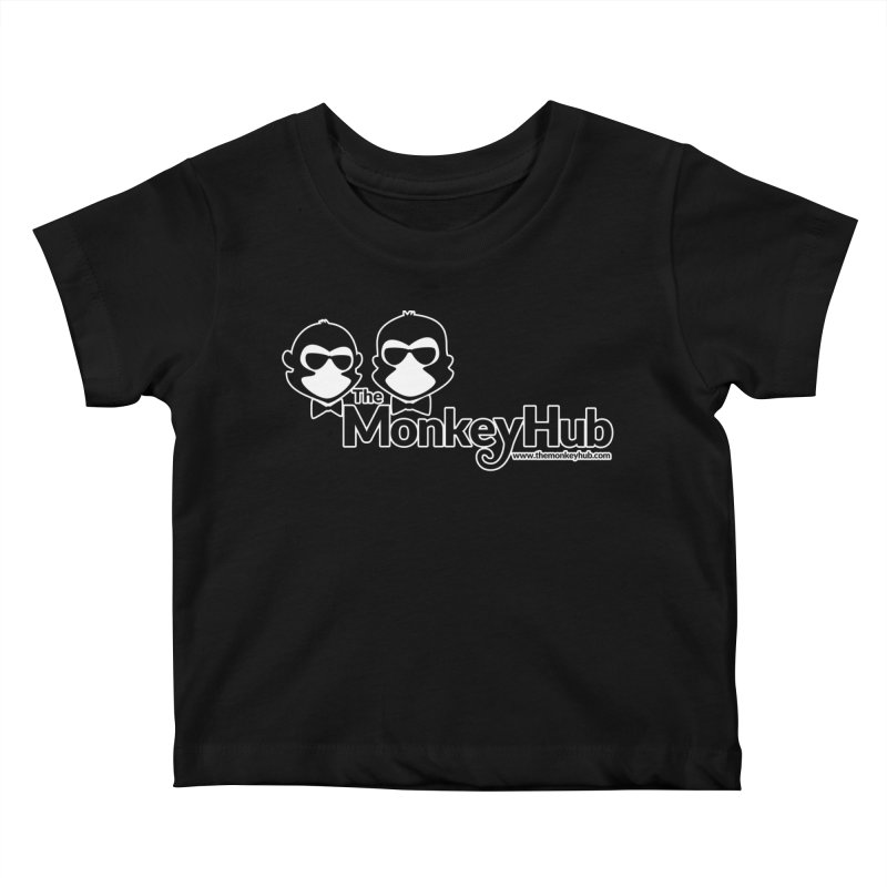 The MonkeyHub Kids Baby T-Shirt by The m0nk3y Merchandise Store