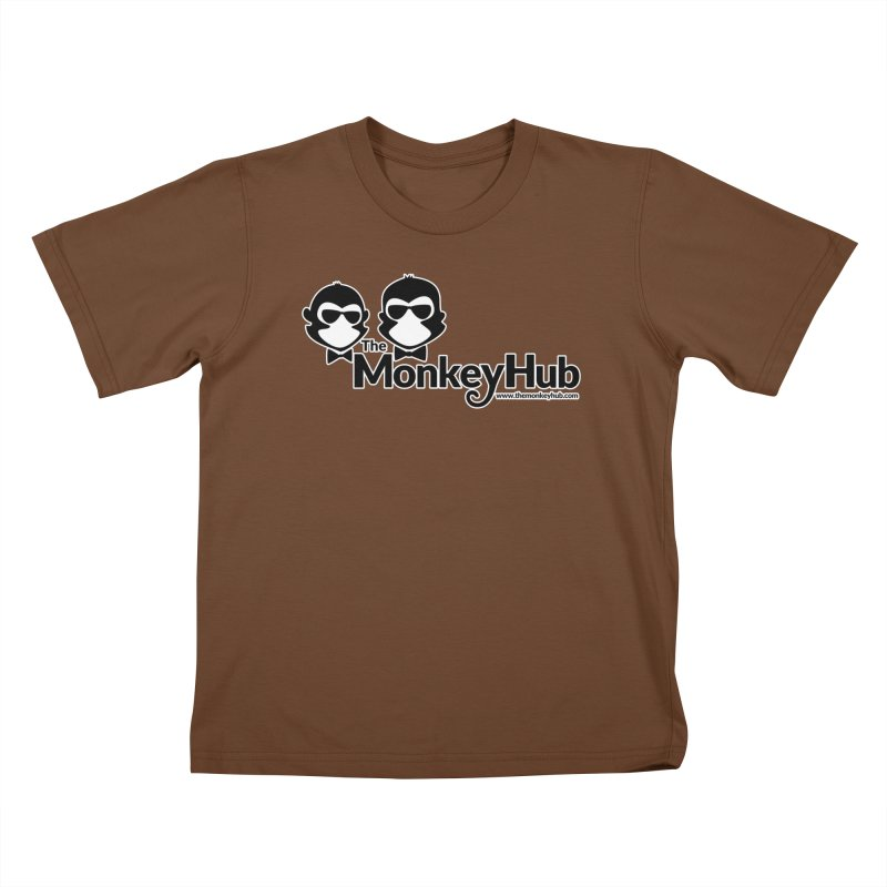 The MonkeyHub Kids T-Shirt by The m0nk3y Merchandise Store