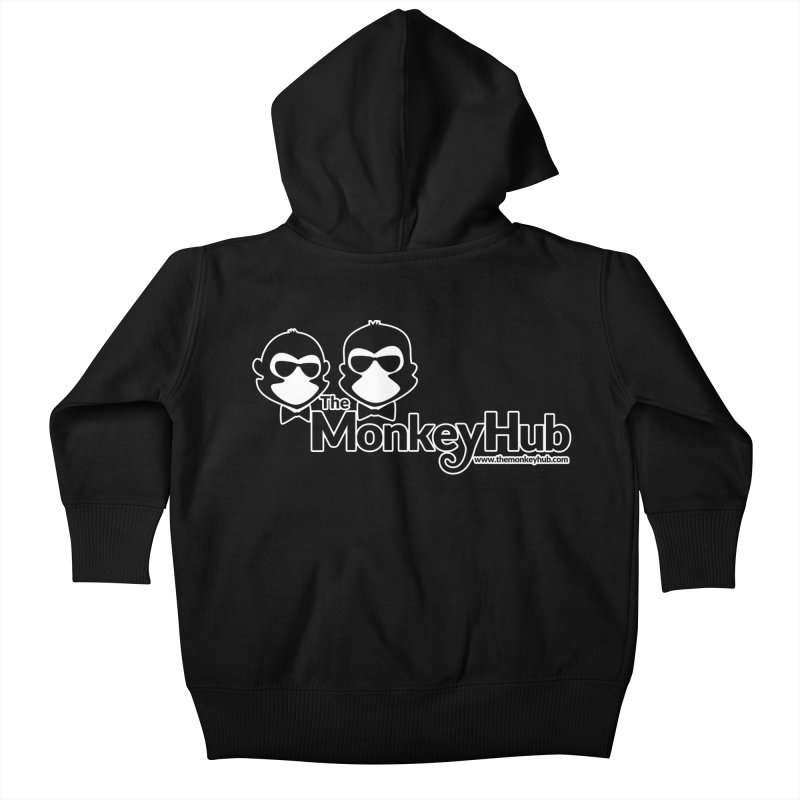 The MonkeyHub Kids Baby Zip-Up Hoody by The m0nk3y Merchandise Store