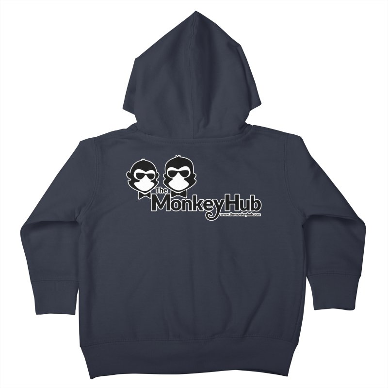 The MonkeyHub Kids Toddler Zip-Up Hoody by The m0nk3y Merchandise Store