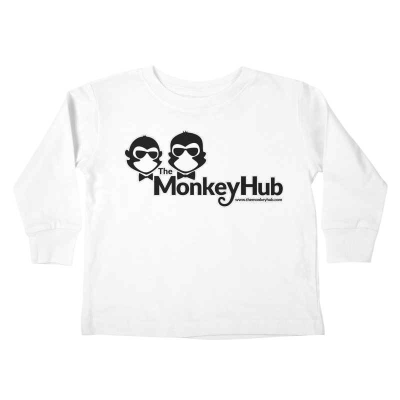 The MonkeyHub Kids Toddler Longsleeve T-Shirt by The m0nk3y Merchandise Store