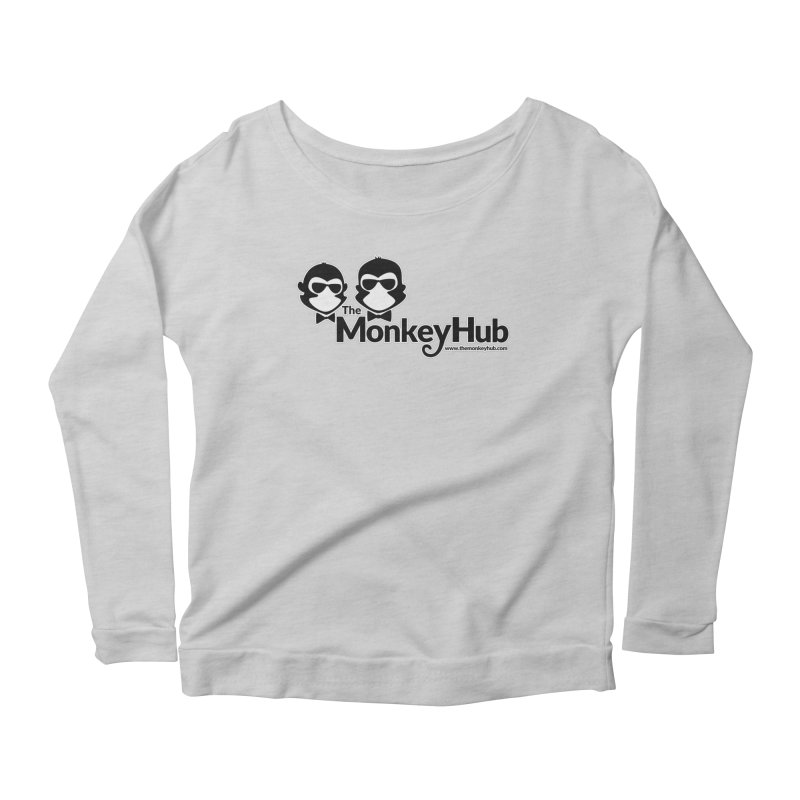 The MonkeyHub Women's Scoop Neck Longsleeve T-Shirt by The m0nk3y Merchandise Store