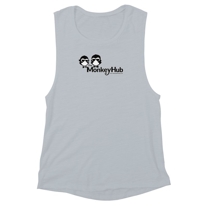 The MonkeyHub Women's Muscle Tank by The m0nk3y Merchandise Store