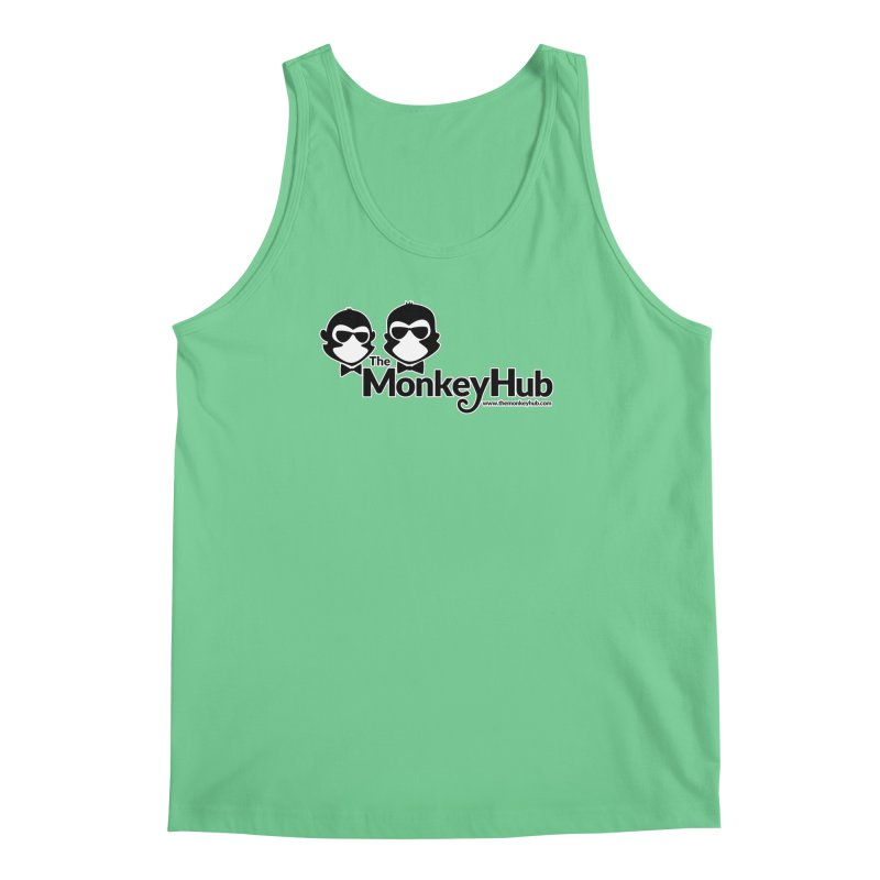 The MonkeyHub Men's Regular Tank by The m0nk3y Merchandise Store