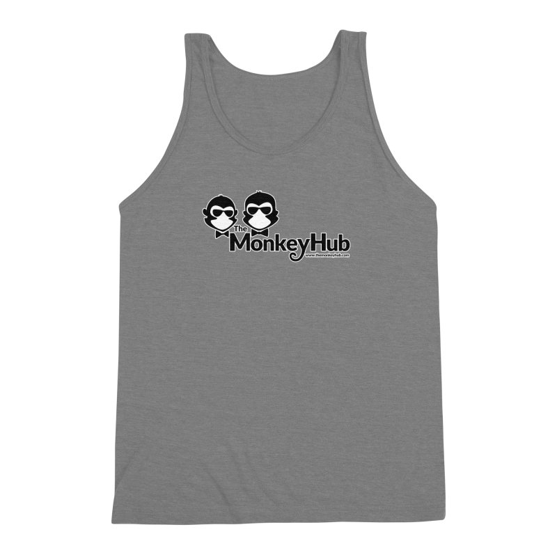 The MonkeyHub Men's Triblend Tank by The m0nk3y Merchandise Store