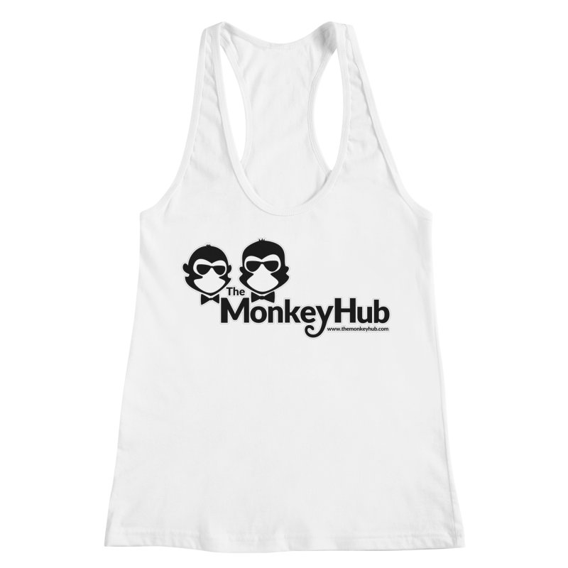 The MonkeyHub Women's Racerback Tank by The m0nk3y Merchandise Store