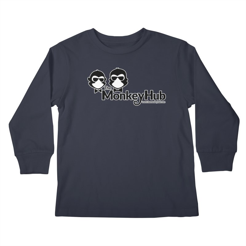 The MonkeyHub Kids Longsleeve T-Shirt by The m0nk3y Merchandise Store