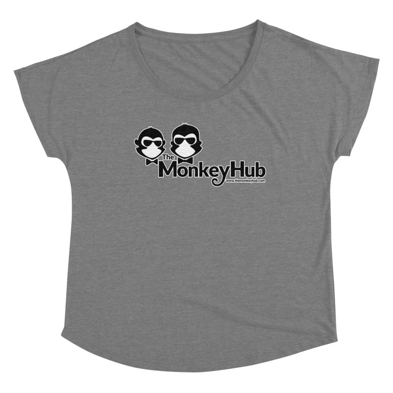 The MonkeyHub Women's Scoop Neck by The m0nk3y Merchandise Store