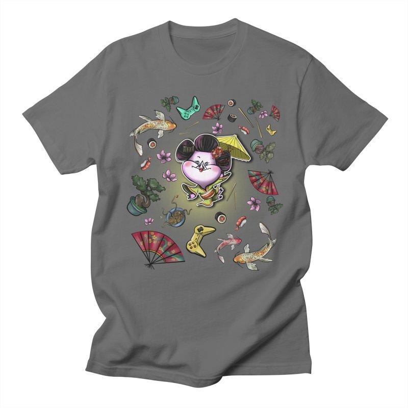 PIG Tails - JAPAN Men's T-Shirt by MonkkeyBiz Artist Shop