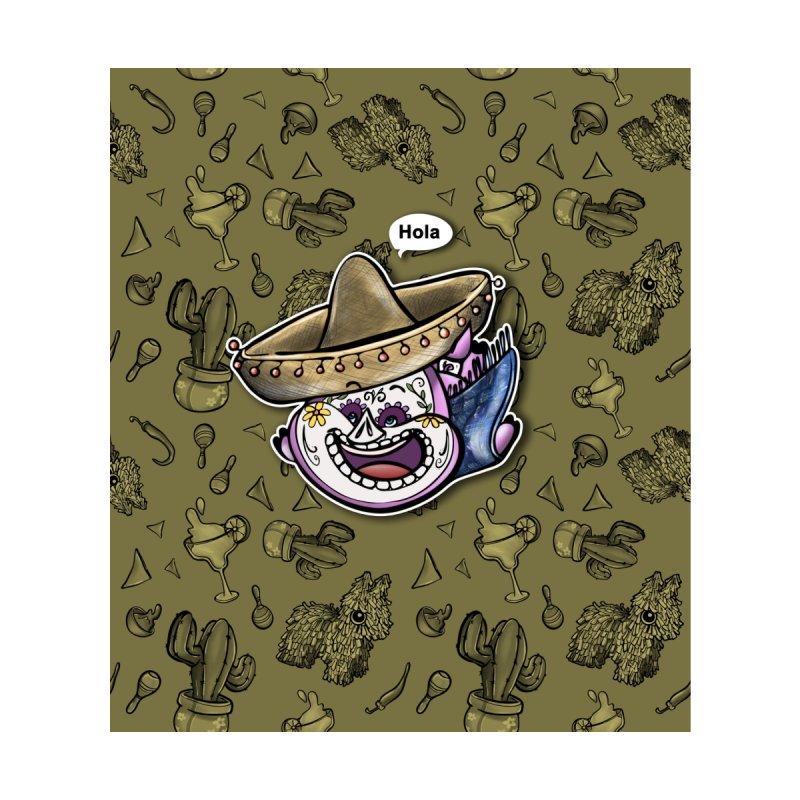 PIG Tails - MEXICO Home Shower Curtain by MonkkeyBiz Artist Shop