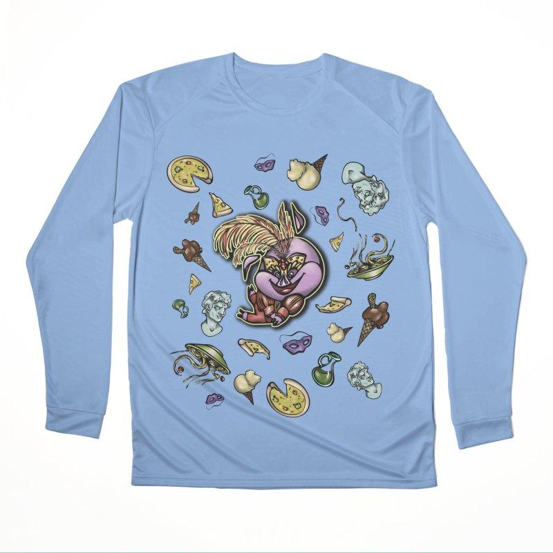 PIG Tails - ITALY Women's Longsleeve T-Shirt by MonkkeyBiz Artist Shop