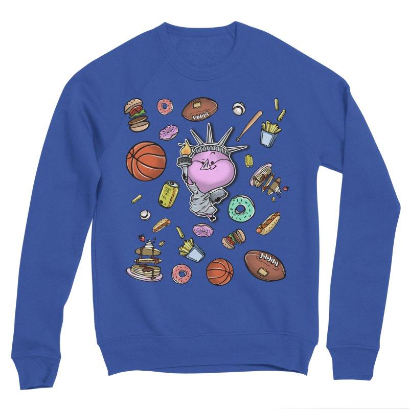 PIG Tails - USA Women's Sweatshirt by MonkkeyBiz Artist Shop