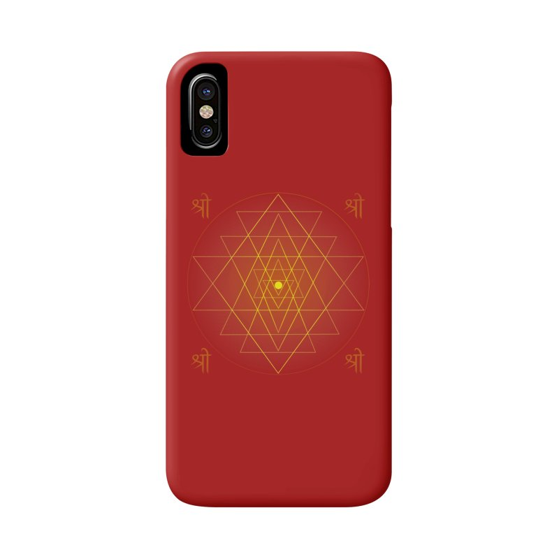 Sri Yantra Accessories Phone Case by Moon Jewel