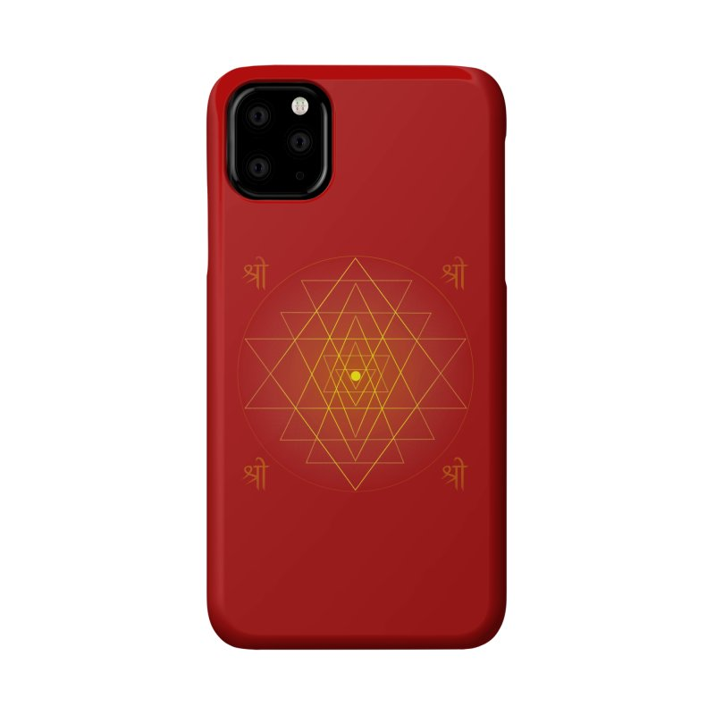 Sri Yantra Accessories Phone Case by Moon Jewel