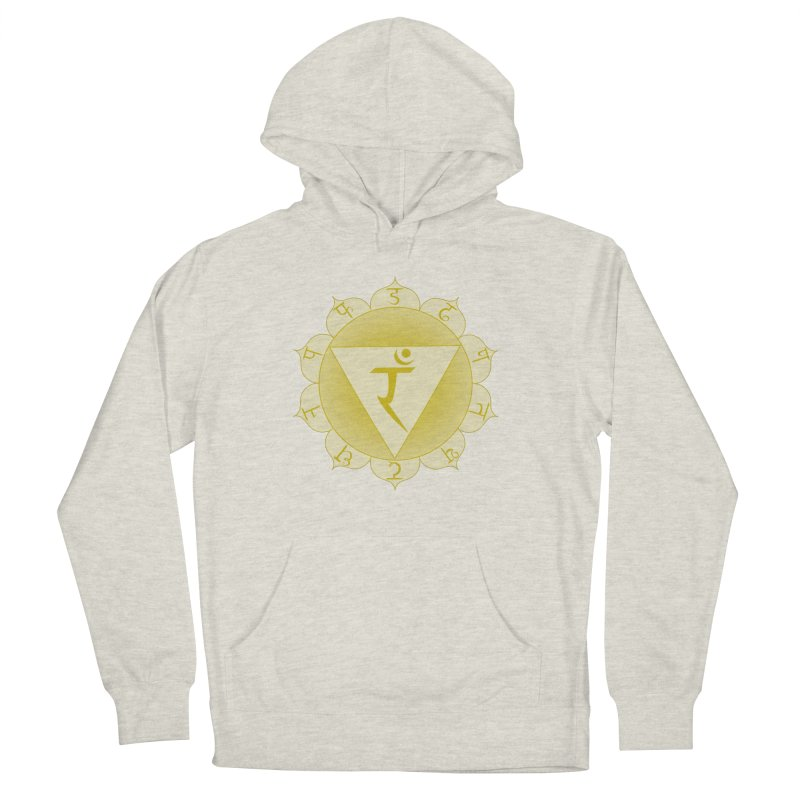 Manipura: Solar Chakra Women's French Terry Pullover Hoody by Moon Jewel