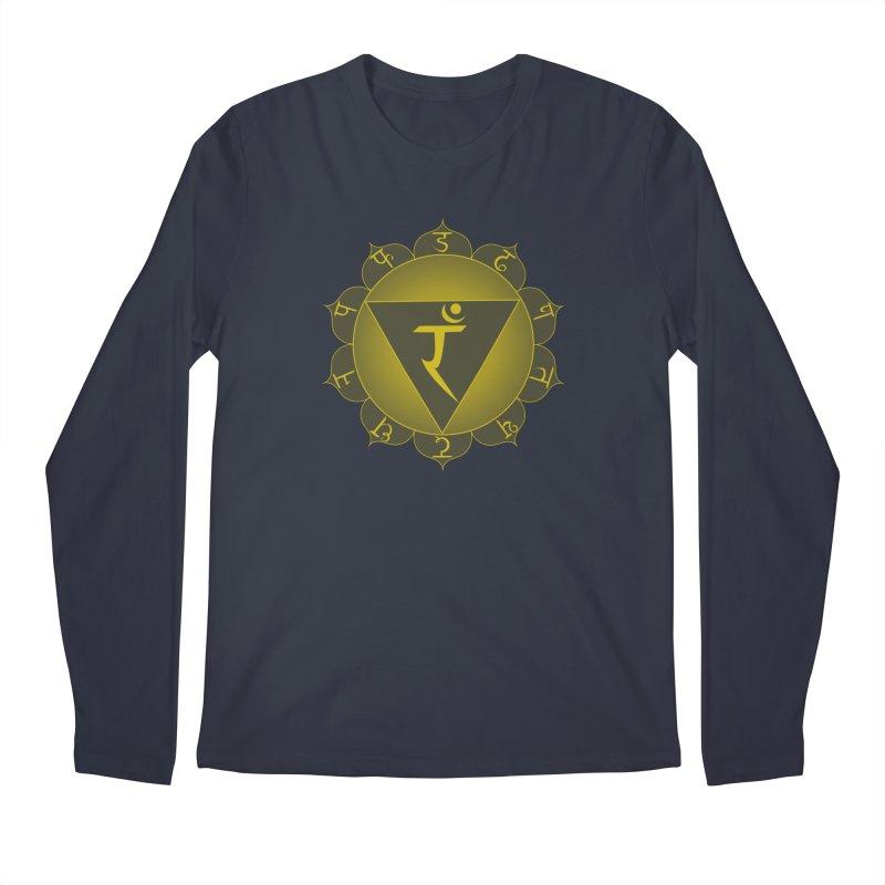 Manipura: Solar Chakra Men's Regular Longsleeve T-Shirt by Moon Jewel