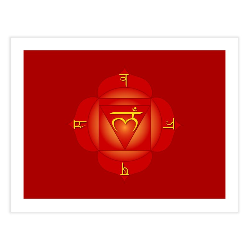 Muladhara: Root Chakra Home Fine Art Print by Moon Jewel