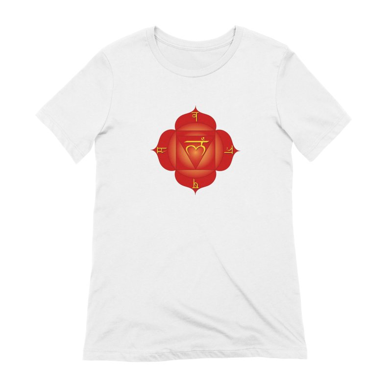 Muladhara: Root Chakra Women's Extra Soft T-Shirt by Moon Jewel