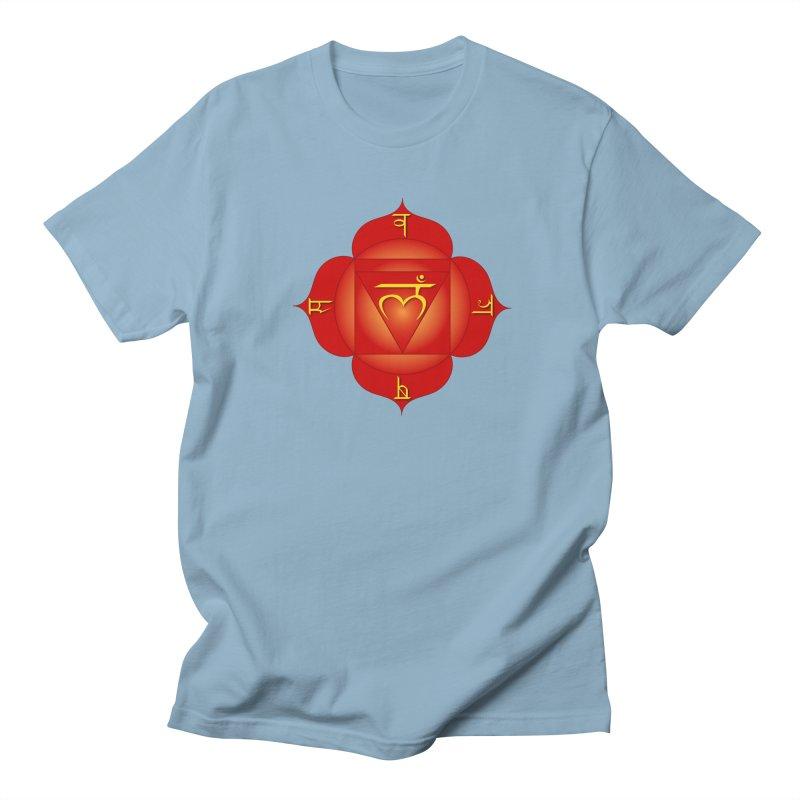 Muladhara: Root Chakra Men's Regular T-Shirt by Moon Jewel
