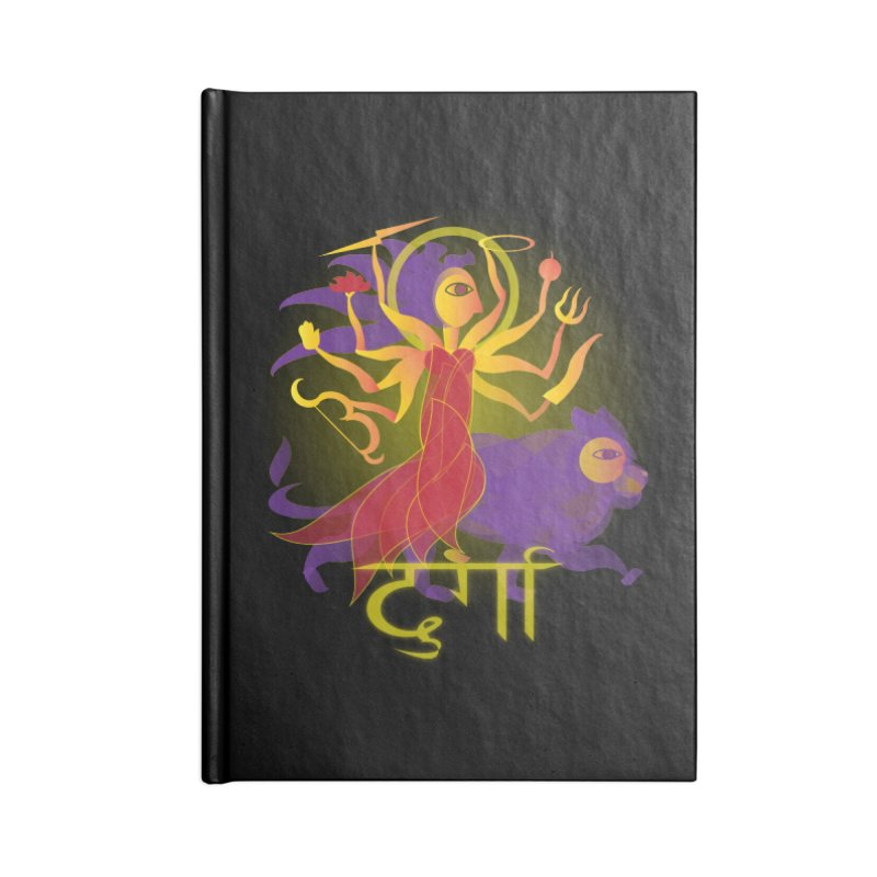 Durga Accessories Blank Journal Notebook by Moon Jewel