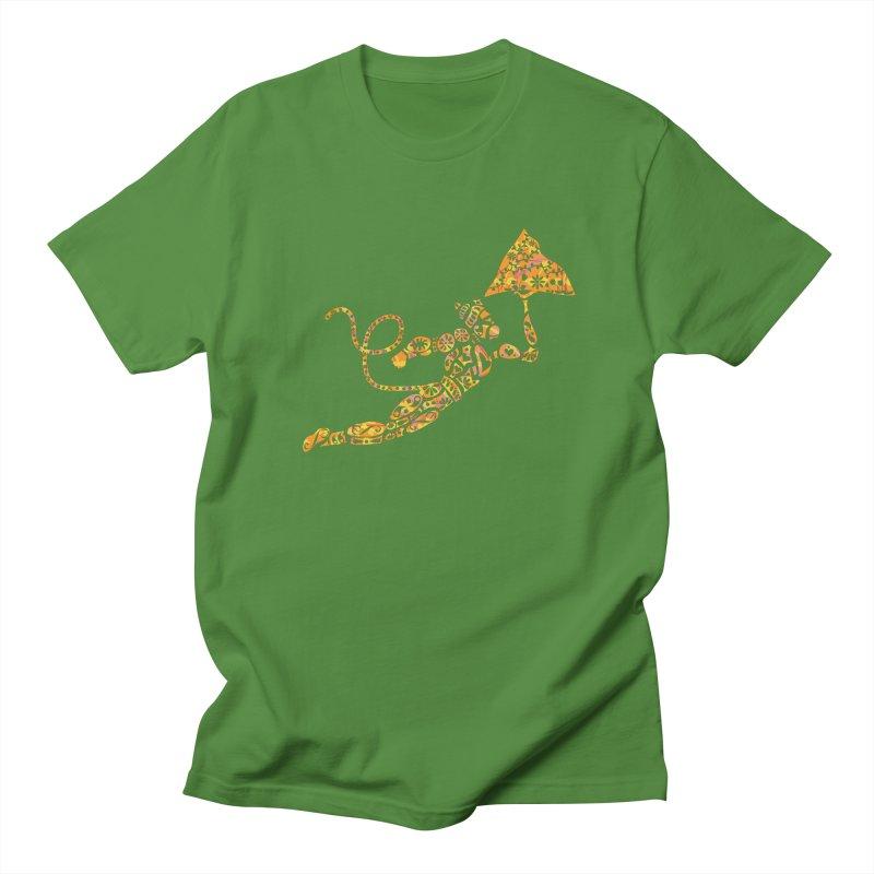 Fiery Hanuman Men's Regular T-Shirt by Moon Jewel