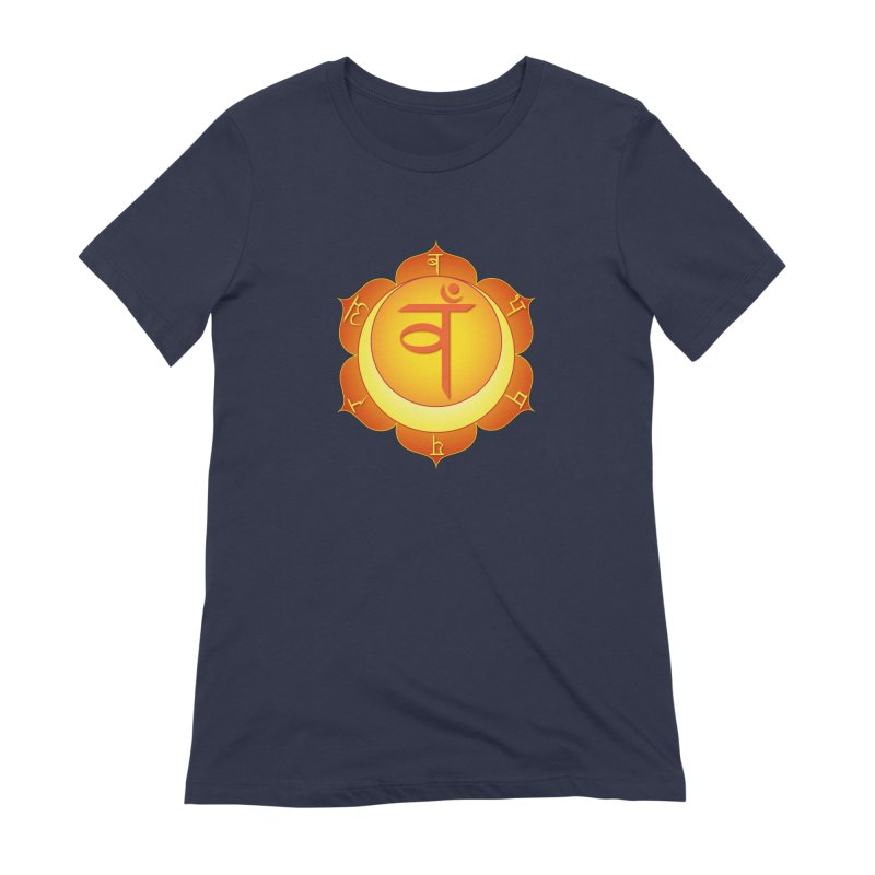 Svadhisthana: Sacral Chakra Women's Extra Soft T-Shirt by Moon Jewel