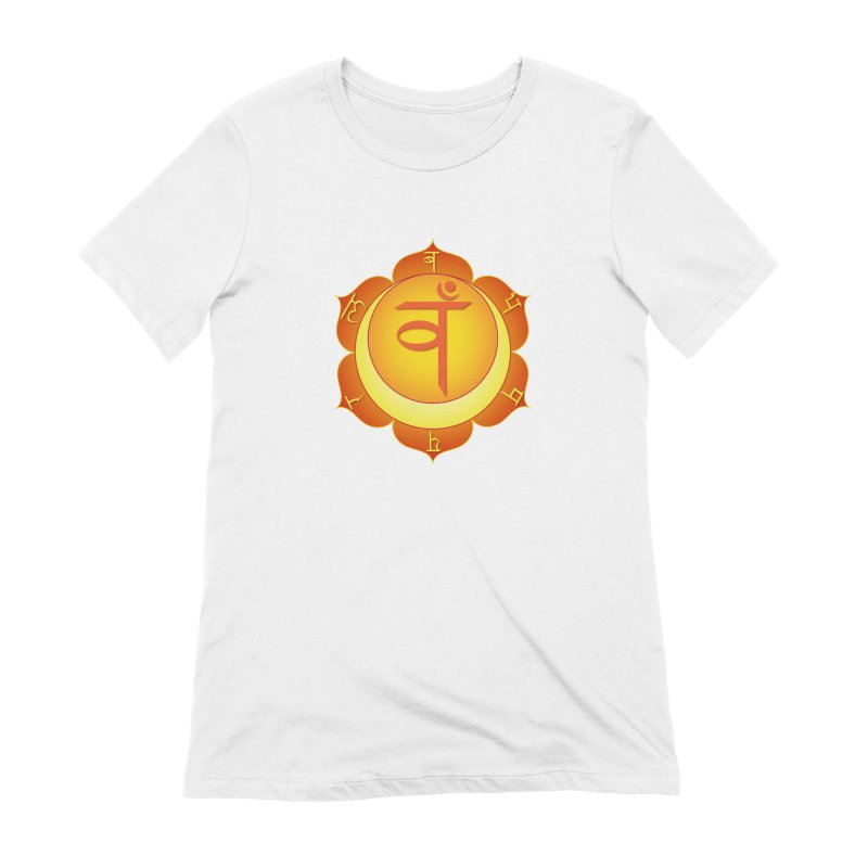 Svadhisthana: Sacral Chakra Women's Extra Soft T-Shirt by Moon Jewel