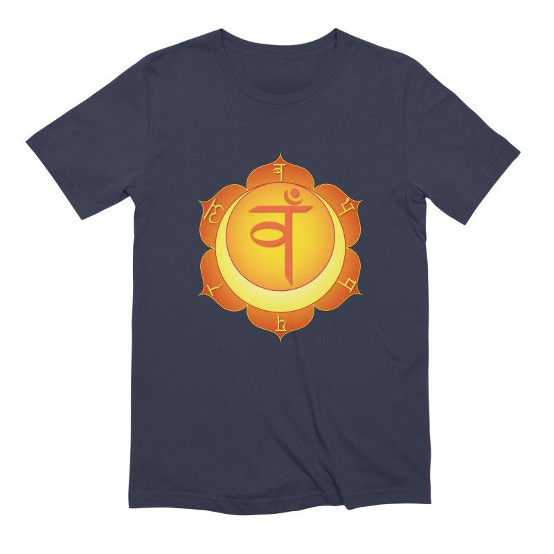 Svadhisthana: Sacral Chakra Men's Extra Soft T-Shirt by Moon Jewel