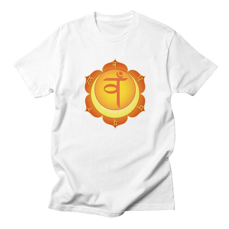Svadhisthana: Sacral Chakra Men's Regular T-Shirt by Moon Jewel