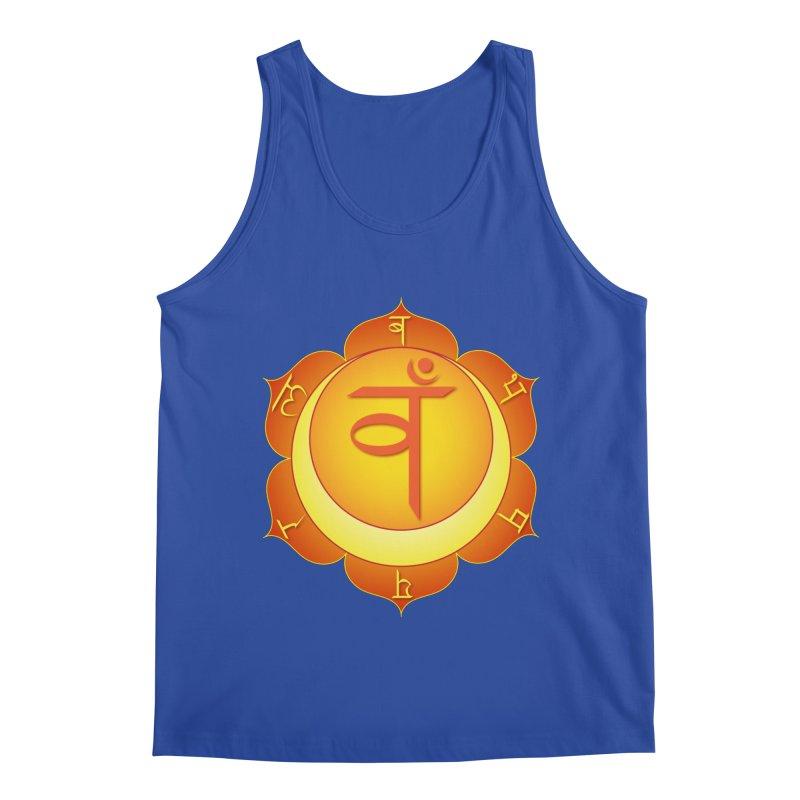 Svadhisthana: Sacral Chakra Men's Regular Tank by Moon Jewel