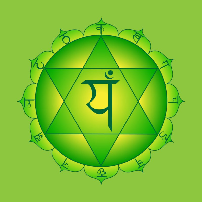 Anahata: Heart Chakra Accessories Notebook by Moon Jewel