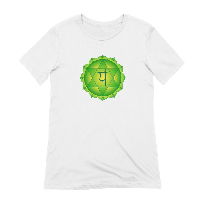 Anahata: Heart Chakra Women's Extra Soft T-Shirt by Moon Jewel