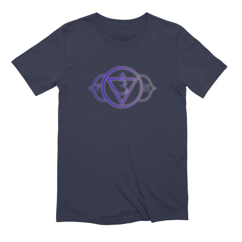 Ajna: 3rd Eye Chakra Men's Extra Soft T-Shirt by Moon Jewel