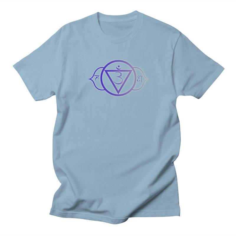 Ajna: 3rd Eye Chakra Men's Regular T-Shirt by Moon Jewel