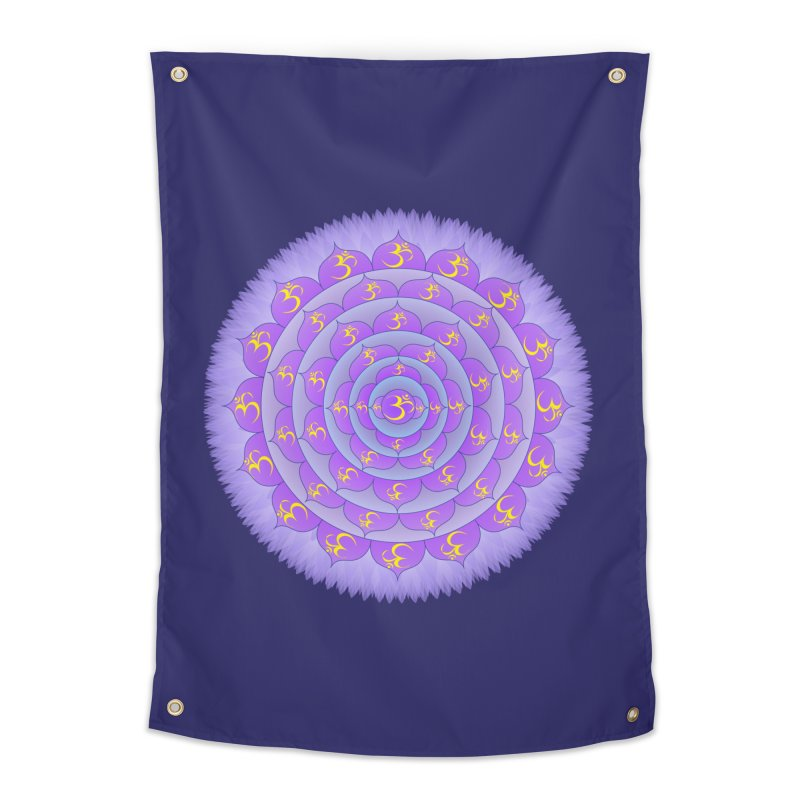 Sahasrara: Crown Chakra Home Tapestry by Moon Jewel