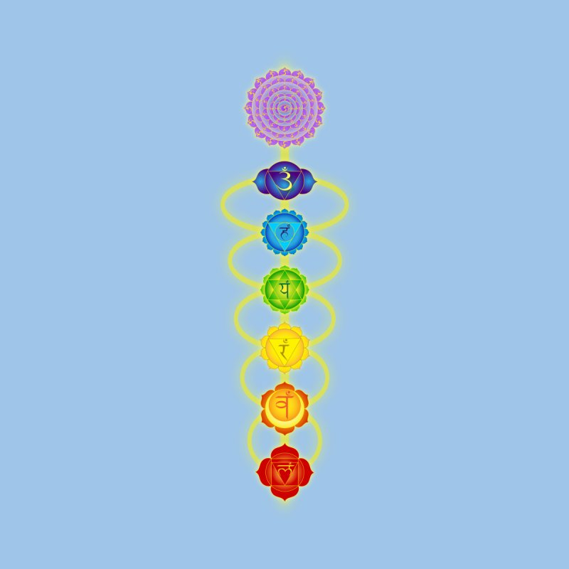 Chakras Home Tapestry by Moon Jewel