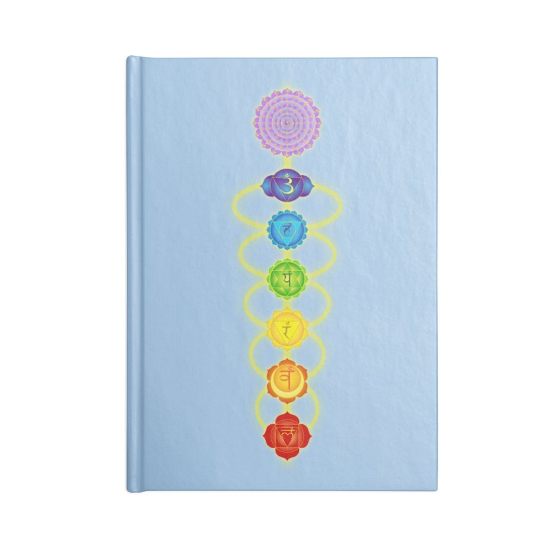 Chakras Accessories Lined Journal Notebook by Moon Jewel