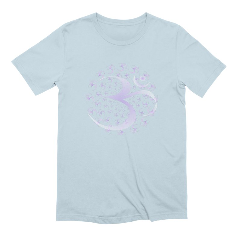 Om Men's Extra Soft T-Shirt by Moon Jewel